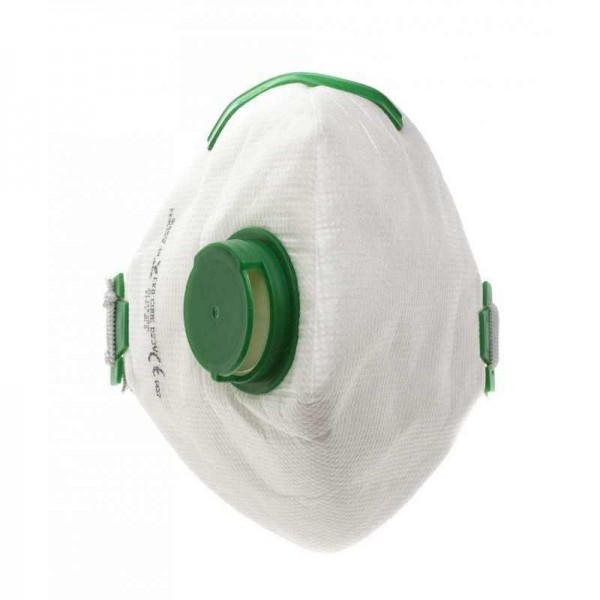 Pack of 10 FFP3 Protective Dust Mask for glass polishing system